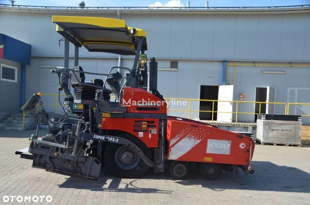 колесен асфалтополагач VÖGELE SUPER 1303 - 2