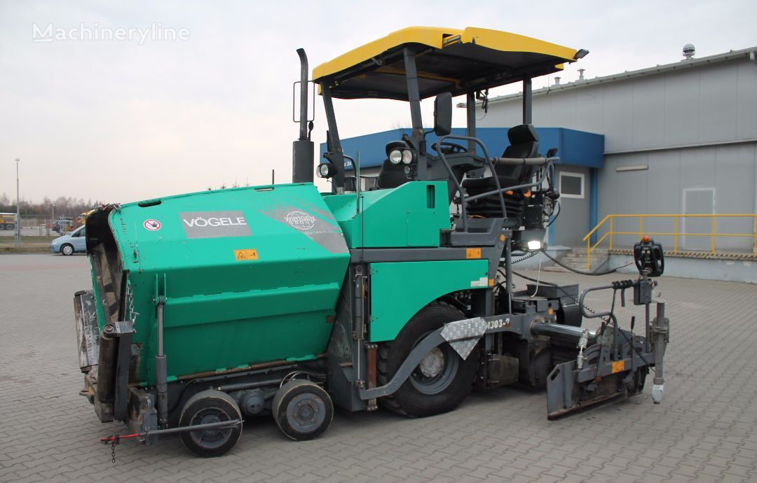 колесен асфалтополагач VÖGELE Super 1303