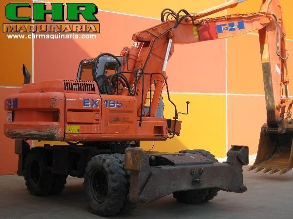 колесен багер FIAT-HITACHI EX165W.3