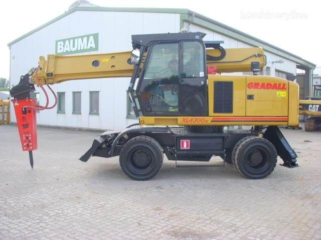 колесен багер GRADALL XL 4300
