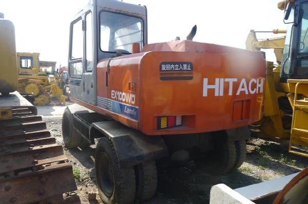 колесен багер HITACHI EX100WD