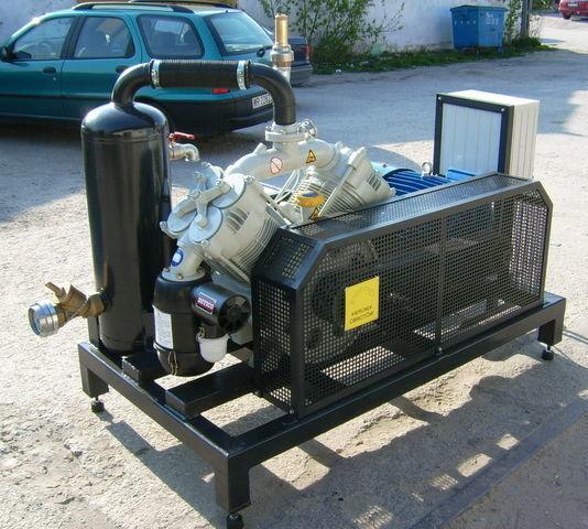 компресор SB1 BETICO z silnikiem elektrycznym
