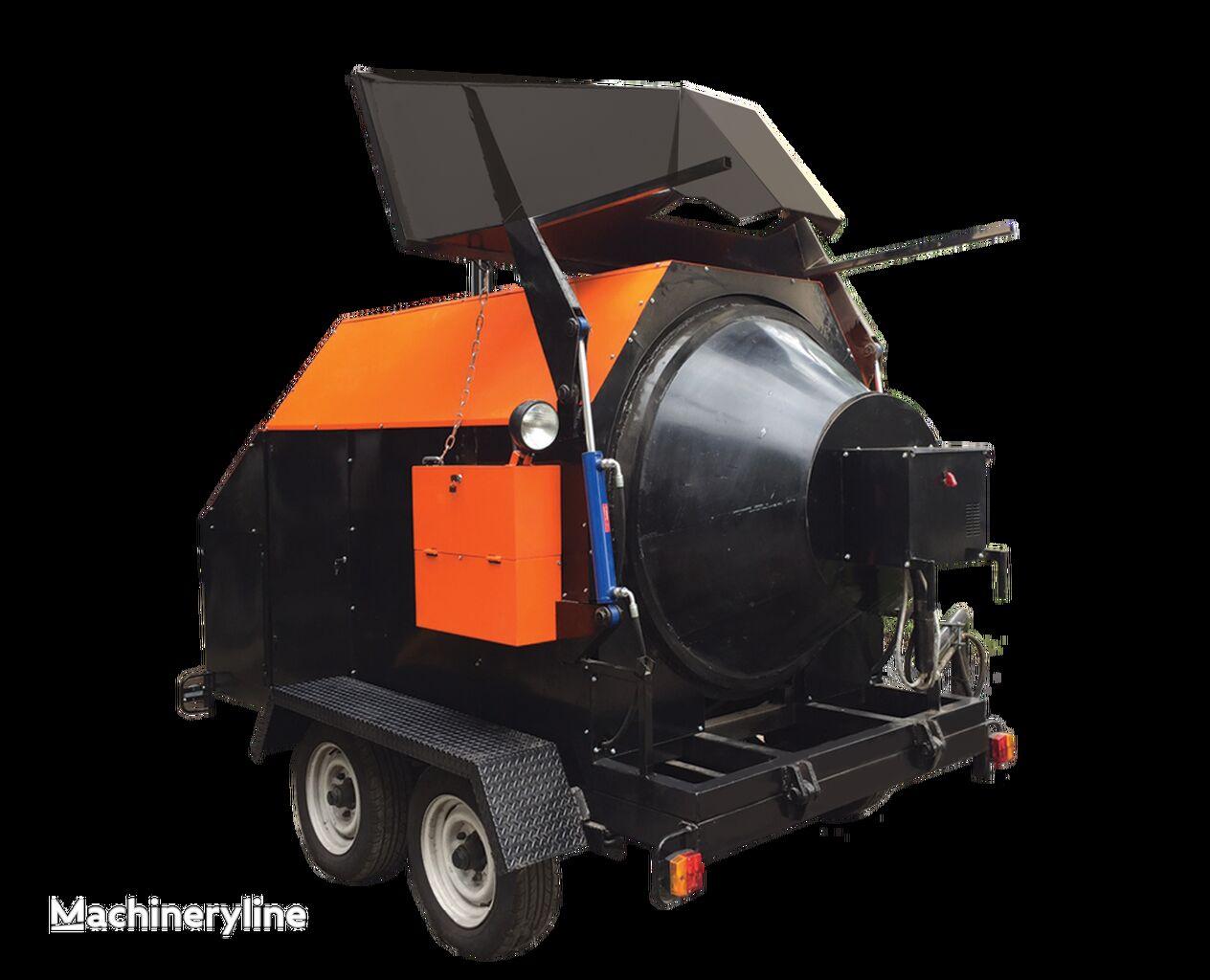 нов машина за рециклиране на асфалт TICAB RA-800