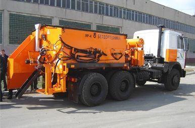 рециклираща машина МАЗ ЯР-4