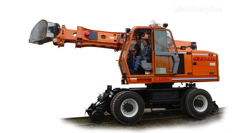 нов релсов екскаватор GRADALL XL 3300