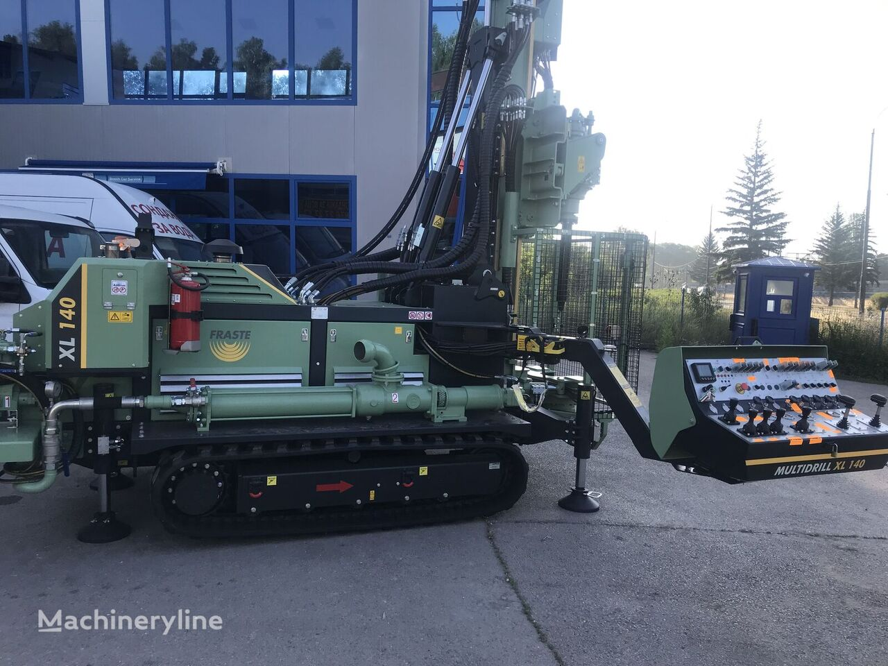 нов сондажна машина FRASTE XL 140