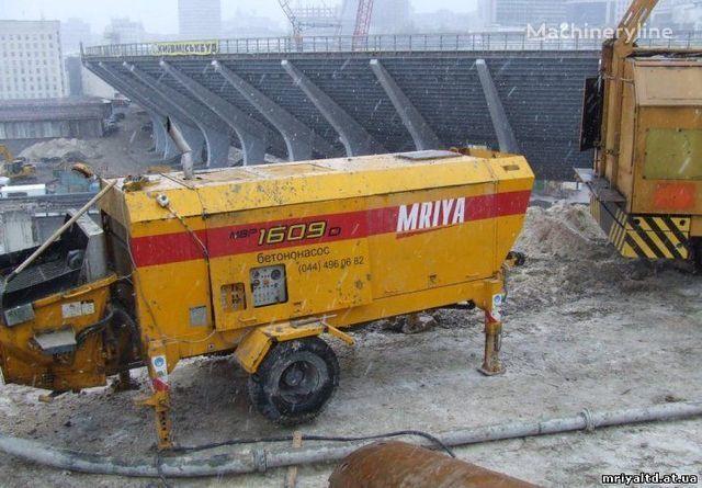 стационарна бетон помпа MRIYA ПРОДАЖА стационарного бетононасоса
