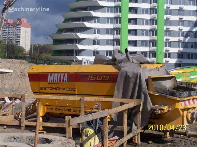 стационарна бетон помпа MRIYA Стационарный бетононасос