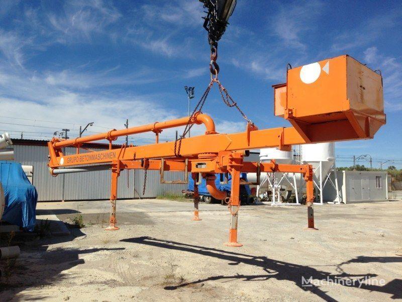 стационарна бетон помпа PUTZMEISTER BP12/C-55M
