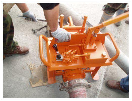 нова стационарна бетон помпа Гидравлические задвижки бетоновода (Южная Корея)
