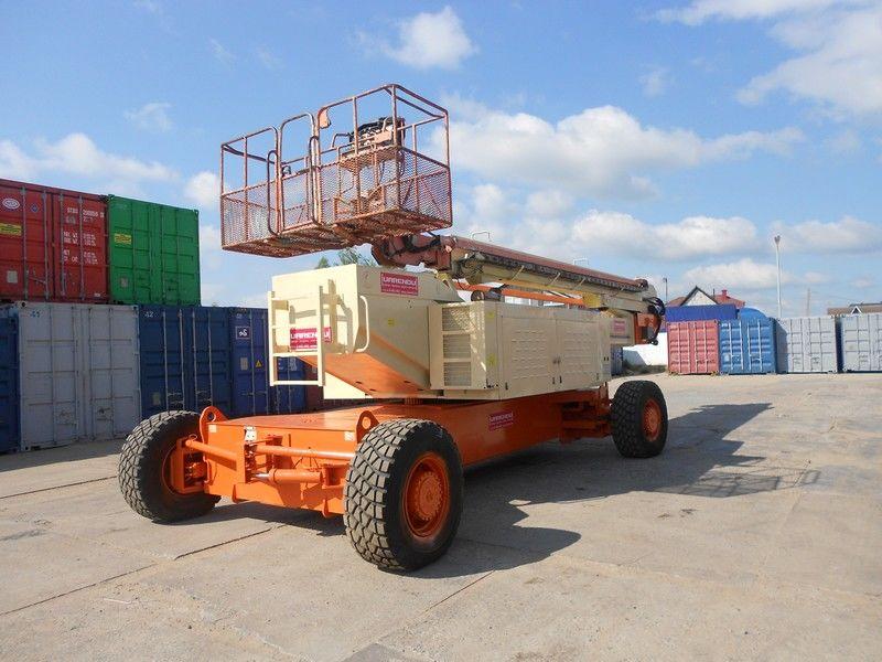 телескопична платформа JLG 150HAX, Diesel, 4x4, 47.7m