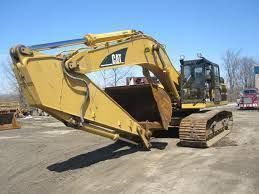 верижен багер CATERPILLAR 345BL