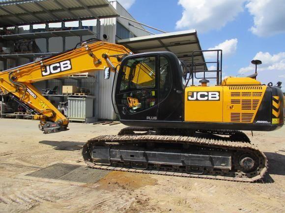 верижен багер JCB JS 220LC