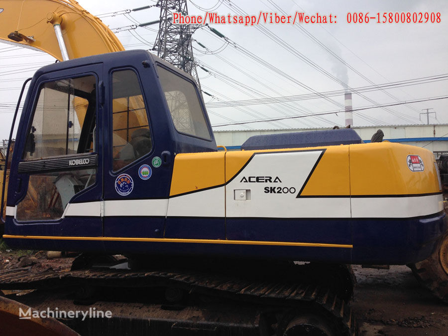 верижен багер KOBELCO SK200-3