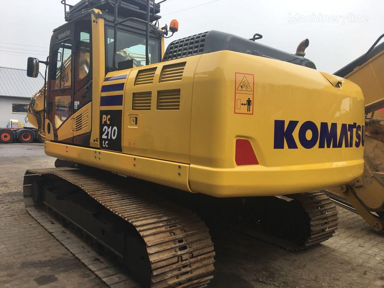 верижен багер KOMATSU PC210LC-10