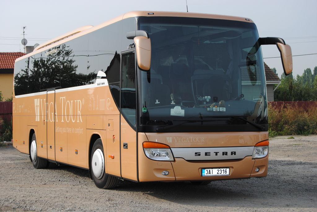 туристически автобус SETRA S 415 GT-HD