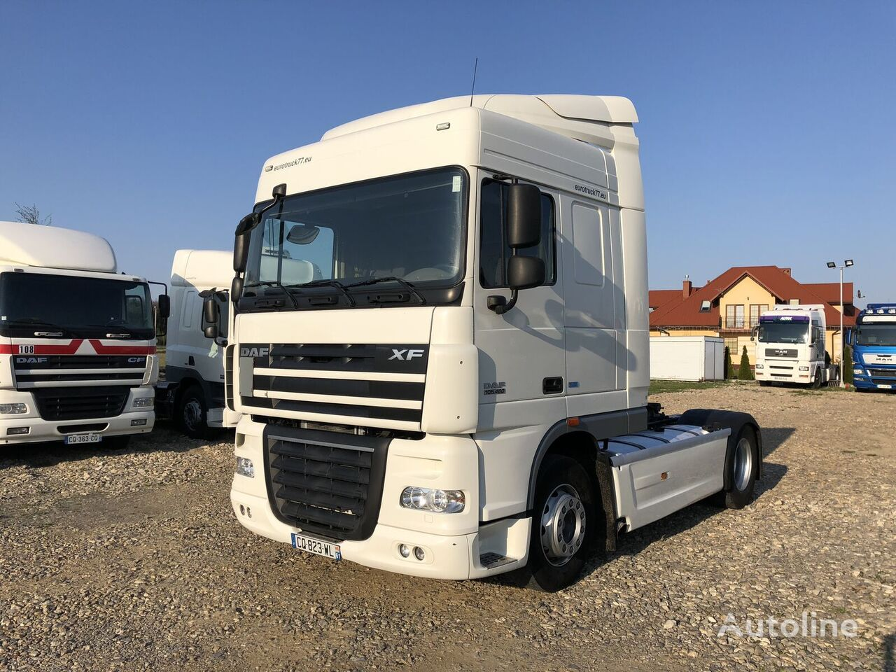 влекач DAF XF 105 460 ATE Space Cab !! 640000 km !! Import France