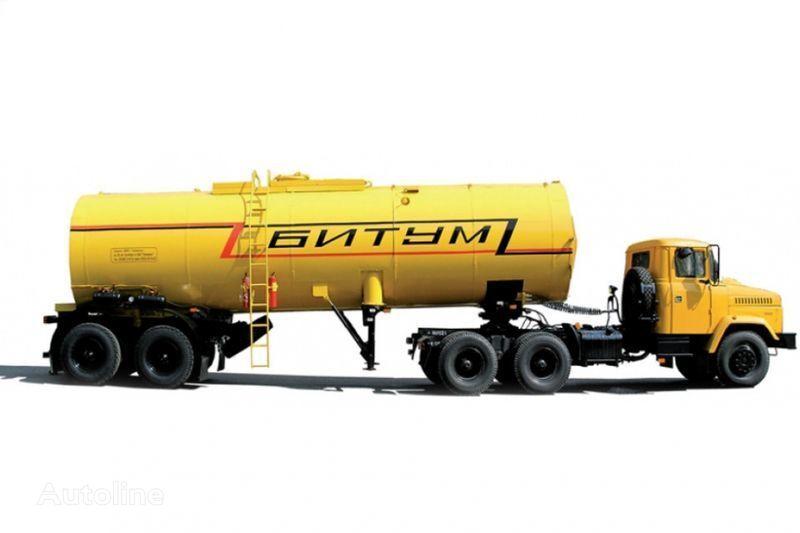 влекач КРАЗ Автобитумовозы 63431 АБ-22 и 6443 АБ-30,5 + цистерна
