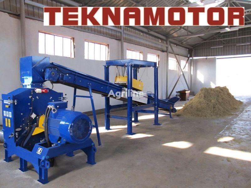 нов завод за преработка на дървесина TEKNAMOTOR Skorpion 800